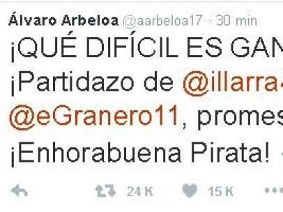 Tuit de Arbeloa