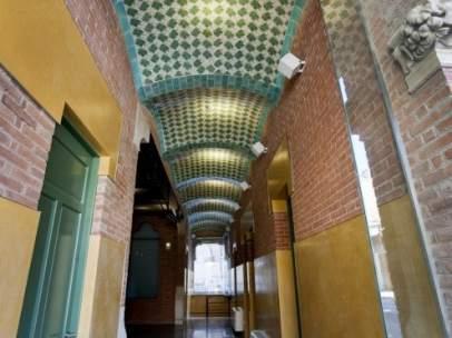 Instalaciones en el Recinto Modernista del Hospital de Sant Pau