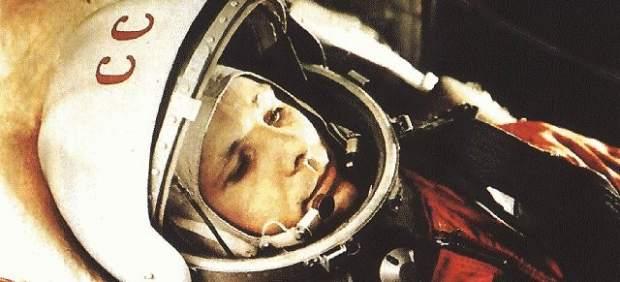 Yuri Gagarin, primera persona de la historia en tripular un vuelo espacial.