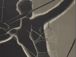 Advertising poster designed by Hans Schleger for the Charnaux Patent Corset Co. Ltd, c. 1936