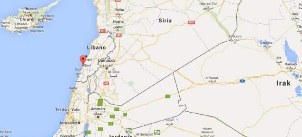 Explota un coche bomba junto al mayor campo de refugiados palestinos en Líbano