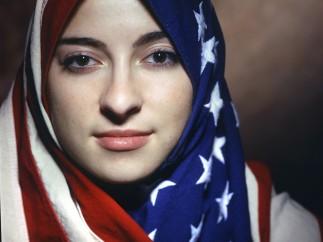 Boushra Almutawakel, Untitled, from the series 'The Hijab', 2001