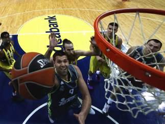 Felipe Reyes, en la Euroliga.
