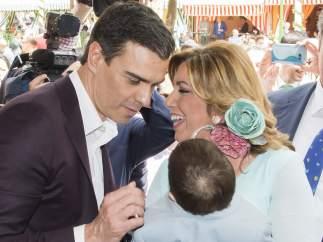 Sánchez y Díaz se van a la Feria