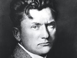 Willhelm Lehmbruck (1881–1919) - Der 37-jährige Wilhelm Lehmbruck, 1918
