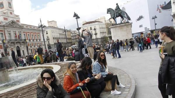 Fuentes de la Puerta del Sol