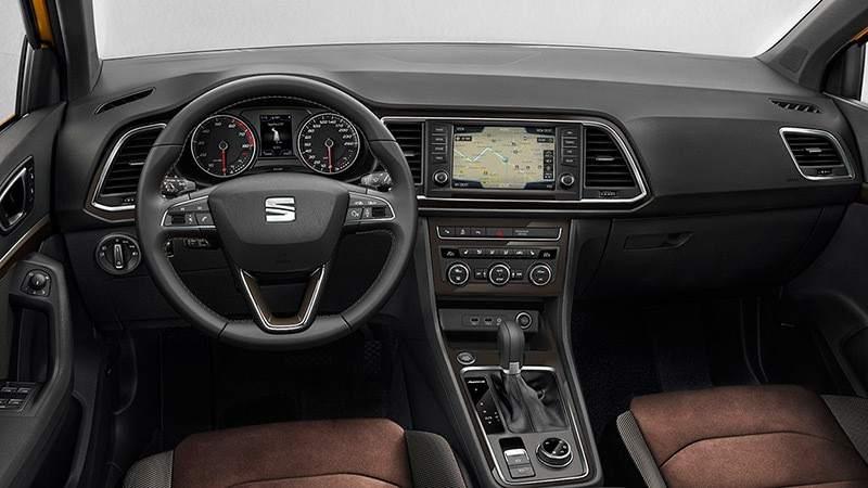 Interior del SEAT Ateca