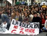 Manifestacion estudiantes Bilbao