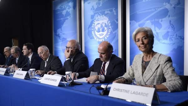 Ministros de finanzas del G-5