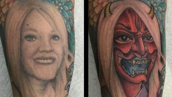 La Mejor Manera De Arreglar Un Tatuaje Con La Cara De Tu Esposa