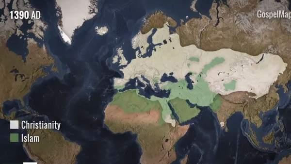 Mapa de religiones