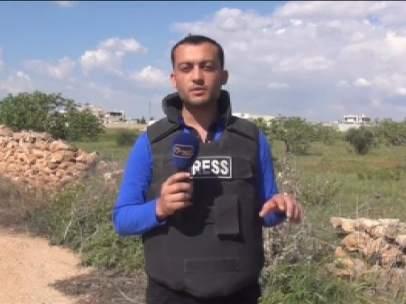 Reportero sirio