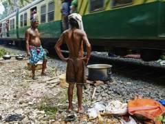 Mueren al menos 50 personas atropelladas por un tren en la India