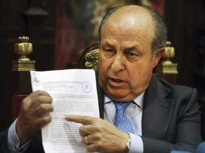 José Torres, alcalde de Granada