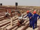 Conductos de petróleo en Kuwait