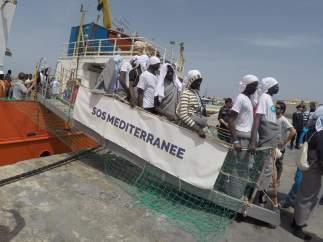 Refugiados Italia
