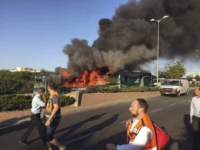Explosión autobús Jerusalén