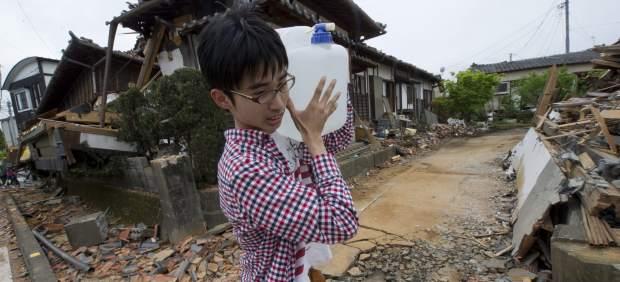 Más de 120.000 personas siguen evacuadas tras los seísmos en el sur de Japón