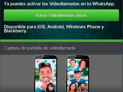 Servicio falso de videollamadas