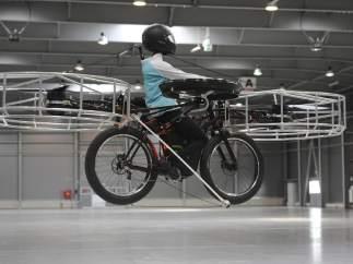 Bicicleta voladora
