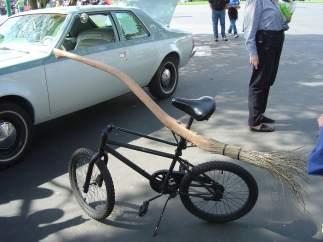 Bicicleta ¿escoba?