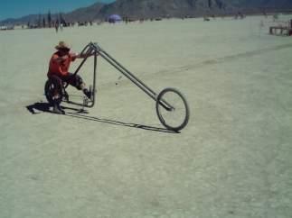 "Bicicleta ""piramidal"""