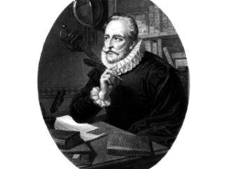 'Retrato de Cervantes, en el momento de la escritura'