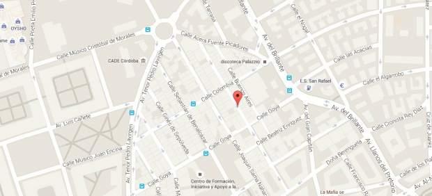 Calle Pintor Palomino, en Córdoba