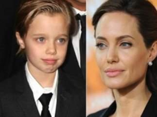 Brad Pitt - Angelina jolie - John jolie-pitt