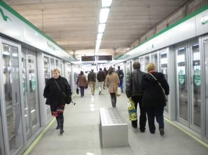 Estación del metro de Sevilla