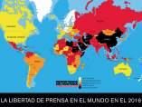 La libertad de prensa en el mundo en el 2016