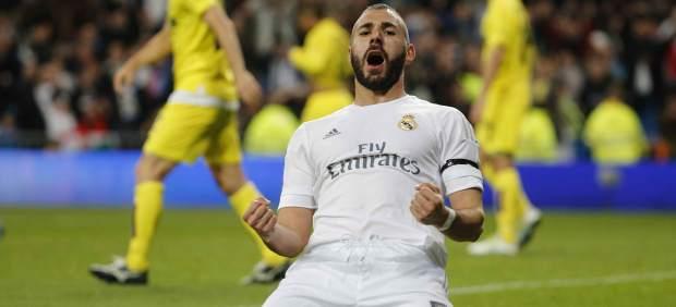 """Benzema sufre """"una lesión miofascial en el bíceps femoral"""" y está """"pendiente de evolución"""""""