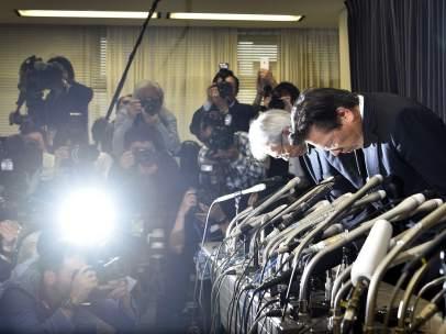 Rueda de prensa de Mitsubishi