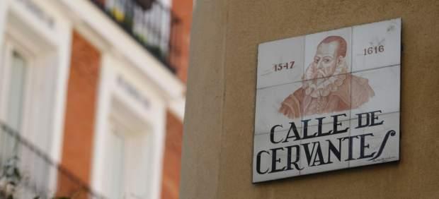 La relación de Cervantes con sus ilustres e insidiosos vecinos en el barrio de Las Letras de Madrid