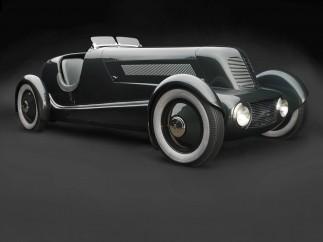 """Edsel Ford, Eugene T. """"Bob"""" Gregorie, Ford Aircraft Division, Edsel Ford's Model 40 Special Speedster, 1934"""