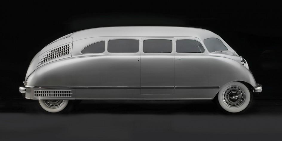William Stout, Stout Motor Car Company, Scarab, 1936. Modelo Scarab de 1936 de la compañía Stout
