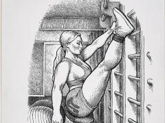 Robert Crumb y la belleza de las mujeres con nalgas rotundas