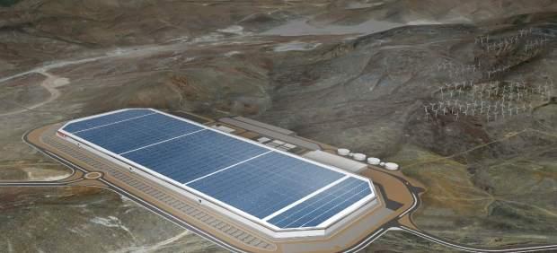 """La nueva """"Gigafactoría"""" de Tesla podrá fabricar medio millón de baterías al año."""
