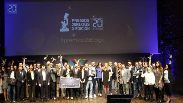 'Boticaria García', la gran ganadora de los X Premios 20Blogs