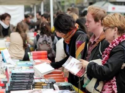 Libros en Sant Jordi