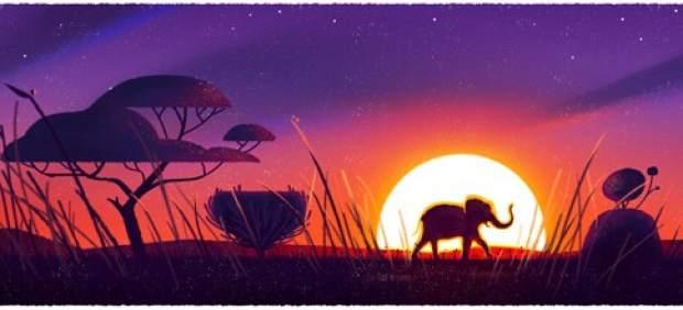 Google celebra el día de la Tierra con cinco doodles de animales emblemáticos