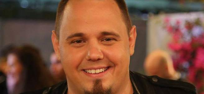 Ovidiu Anton, representante rumano en Eurovisión.