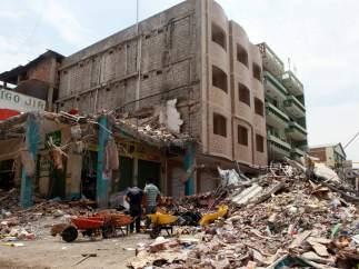 terremoto ecuador Manta