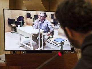 Francisco Granados comparece desde la cárcel