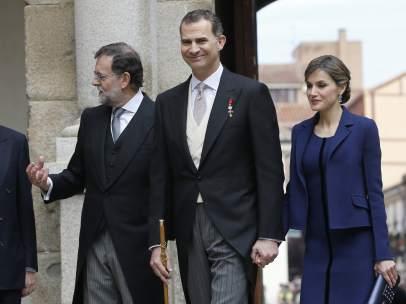Acto de entrega del Premio Cervantes