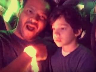 Niño con autismo en concierto de Coldplay