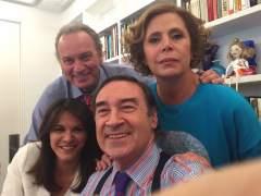 Pedro J. Ramírez y Agatha en el programa de Bertín Osborne