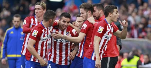 Ángel Correa desatasca un difícil partido para el Atlético y le da la victoria ante el Málaga