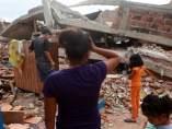 Una semana tras el terremoto de Ecuador