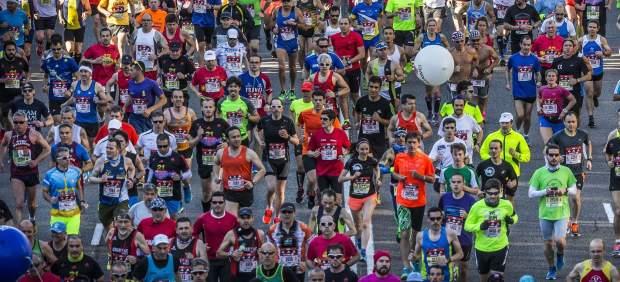 Cortes de tráfico en Madrid por la maratón de este domingo